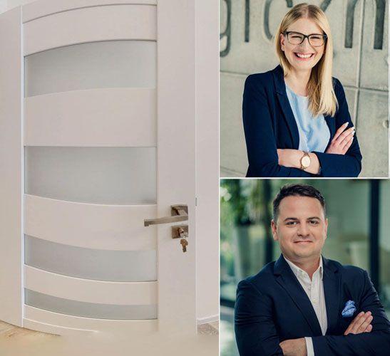 Basia Zielińska i Wiktor Kielar