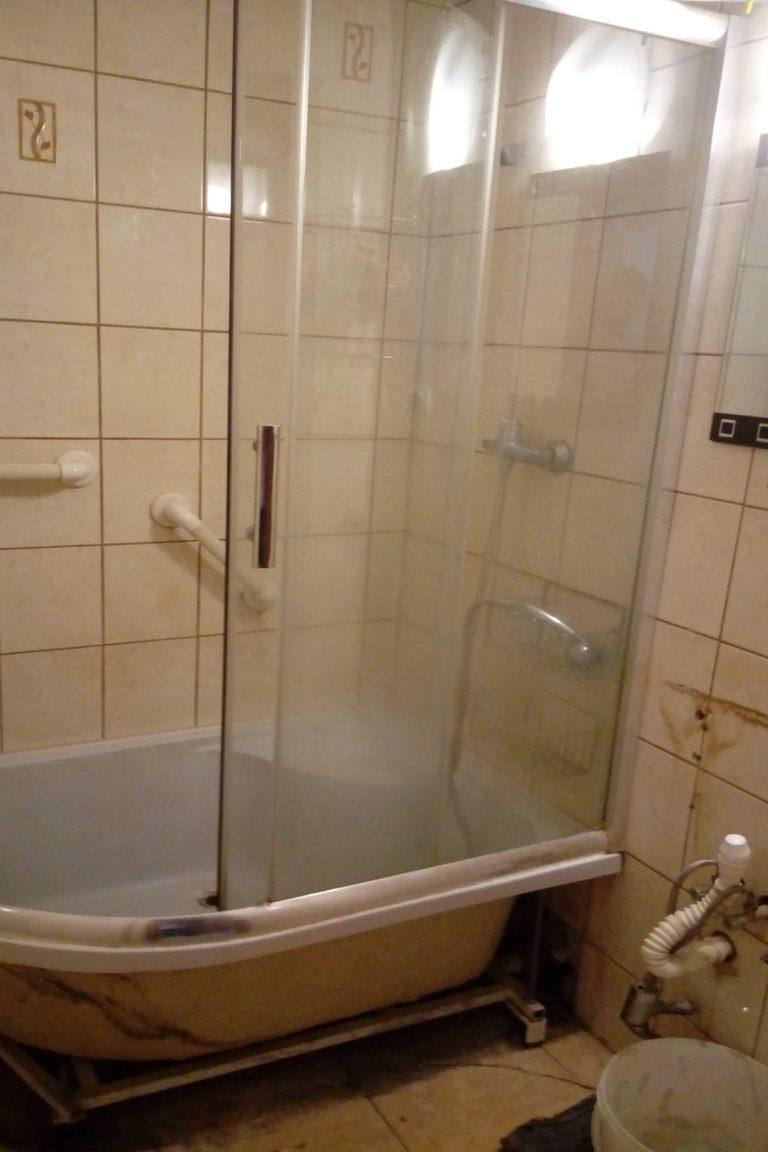 remont łazienki w mieszkaniu inwestycyjnym w lesznie