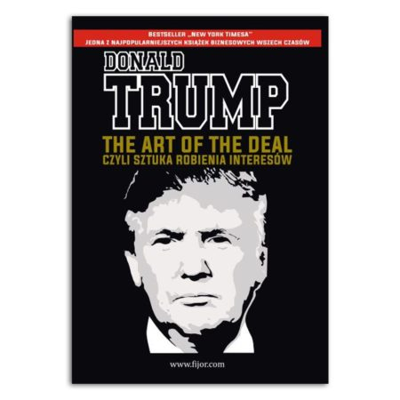 książka Donald Trump the art of the deal