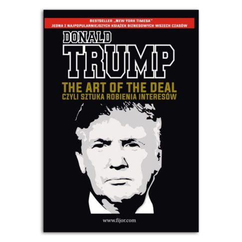 książka Donald Trump the art of the deal