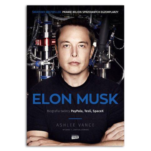 książka Elon Musk biografia twórcy Paypala, Tesli, Spacex