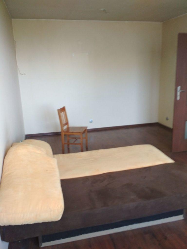 pusta sypialnia w mieszkaniu w gdyni