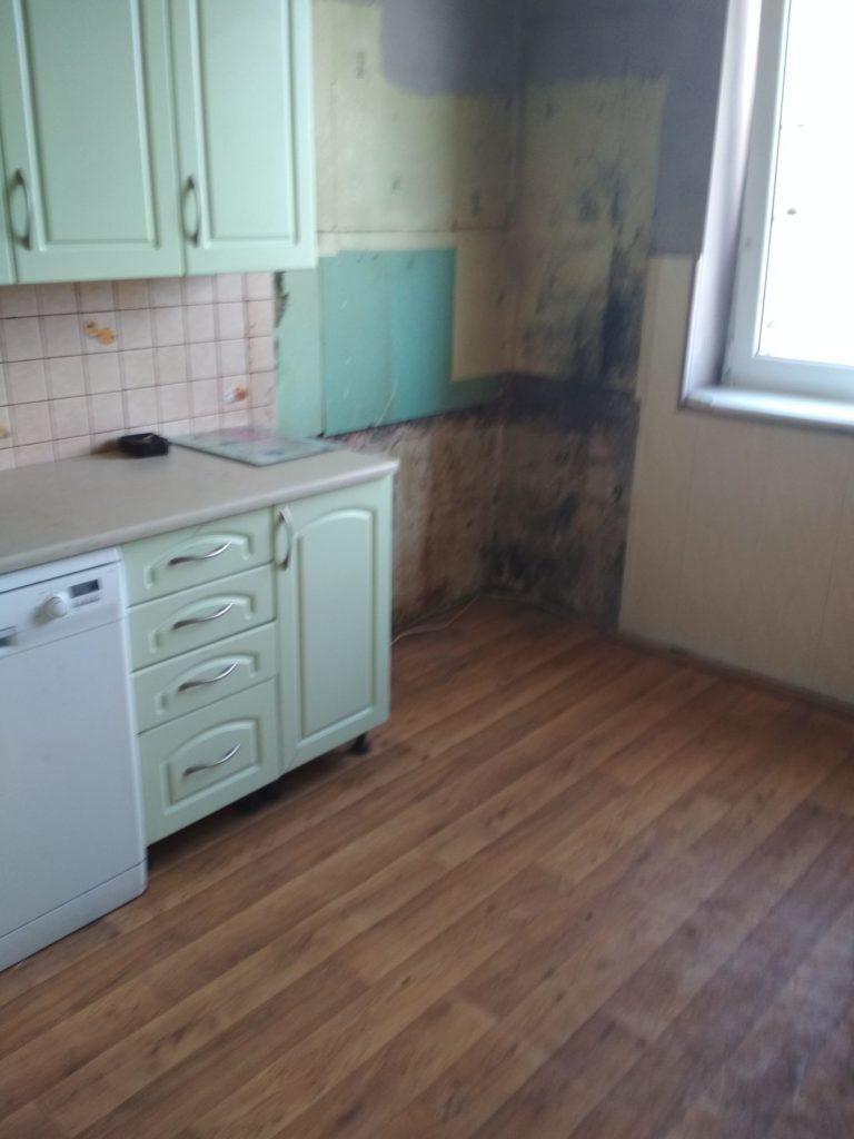 demontaż kuchni w mieszkaniu inwestycyjnym