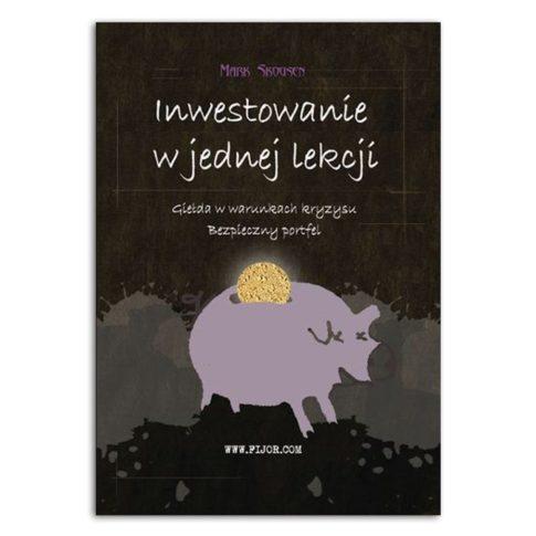 książka Inwestowanie w jednej lekcji