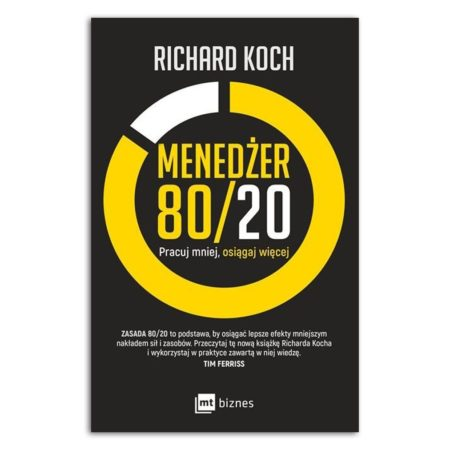 książka Menedżer 80 20