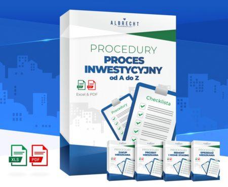 paczka z procedurami dotyczącymi procesu inwestycyjnego
