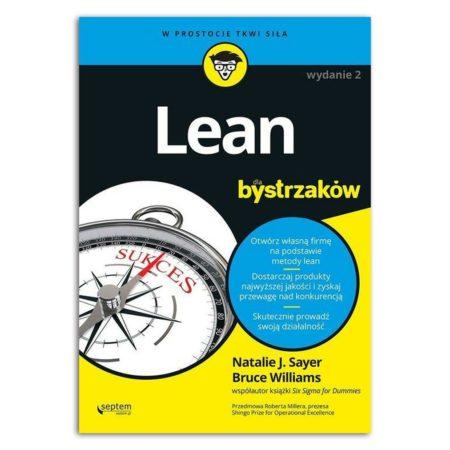 książka Lean dla bystrzaków