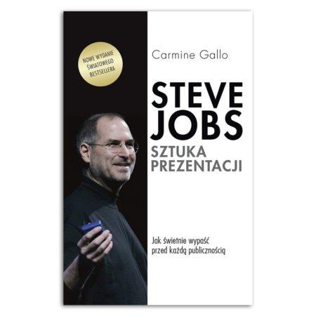 książka Steve Jobs. Sztuka prezentacji. Jak świetnie wypaść przed każdą publicznością