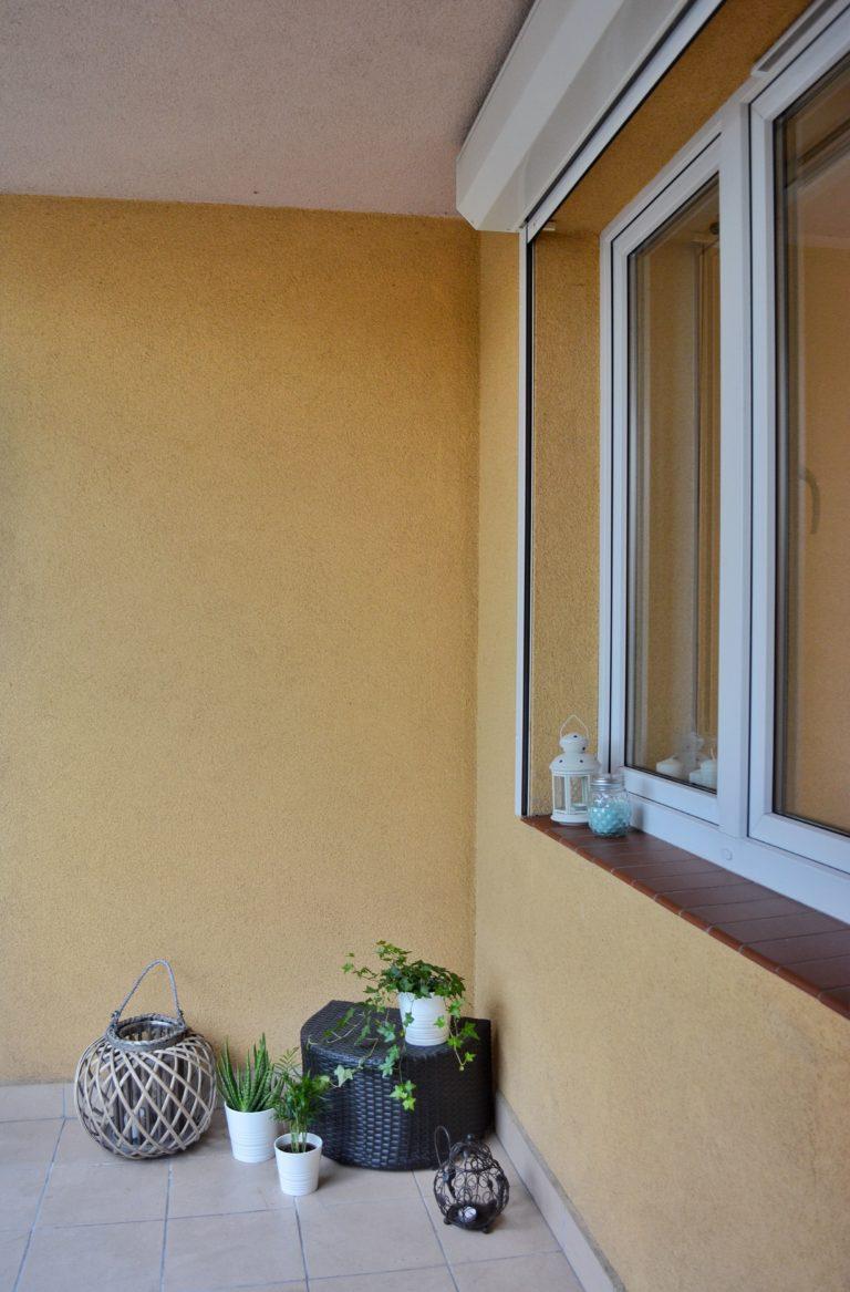 plastikowe okno na balkon