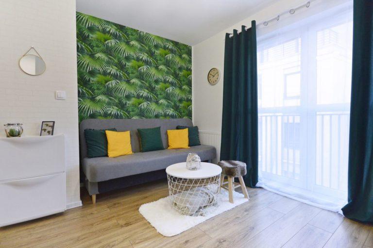 dekoracja wnętrza w mieszkaniu na wynajem